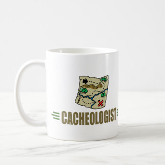 Geocaching chistoso taza