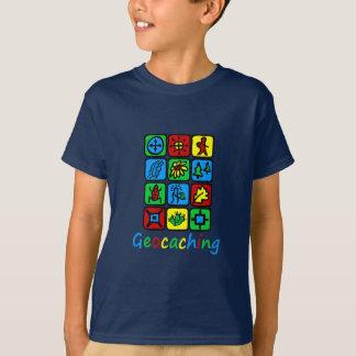 Geocaching colorido playera