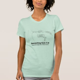 Geocaching DNF - Encouragement 2 T-Shirt