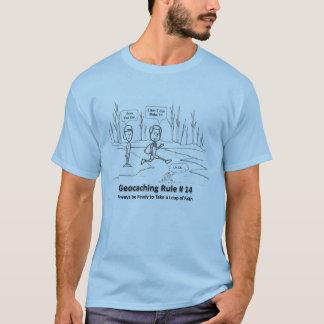 Geocaching DNF - Leap of Faith T-Shirt
