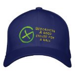 Geocaching Embroidered Baseball Hat