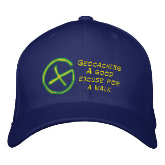 Geocaching Embroidered Baseball Cap