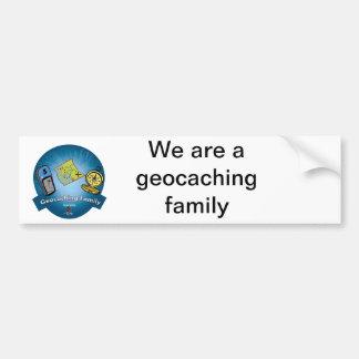 Geocaching Family Bumper Sticker Car Bumper Sticker