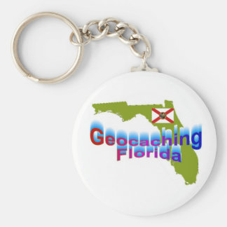 Geocaching Florida Keychain