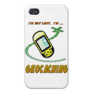 Geocaching iPhone 4 Protectores