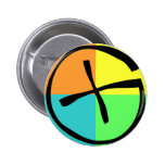 Geocaching Gear 2 Inch Round Button