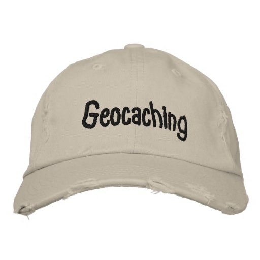 Geocaching Hat Embroidered Baseball Caps