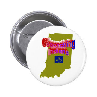 Geocaching Indiana Button