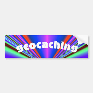 geocaching kalidoscope car bumper sticker