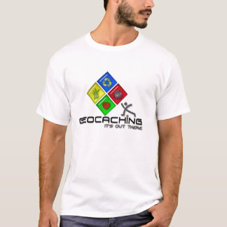 Geocaching Logo Stickman Graphic Shirts! T-Shirt