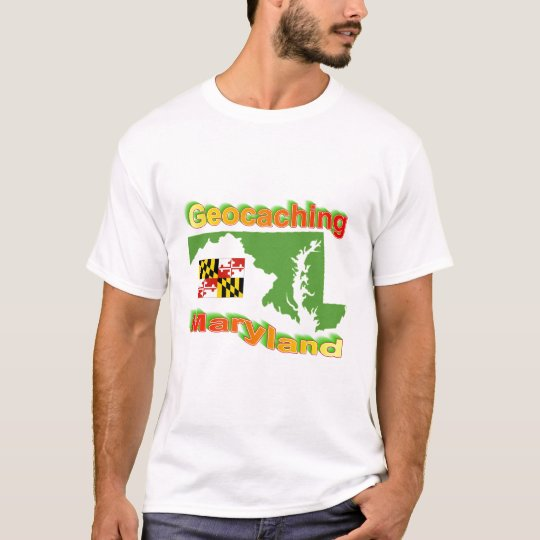 Geocaching Maryland Tee