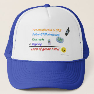 Geocaching Math hat