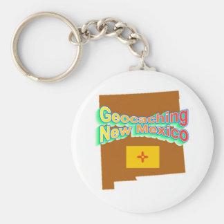 Geocaching New Mexico Keychain