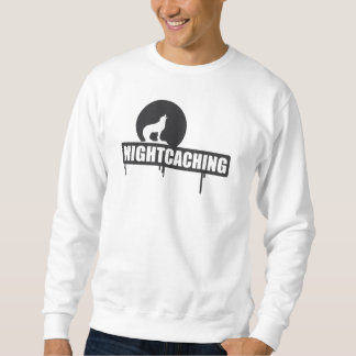 """Geocaching """"Nightcaching shadow """" Sweatshirt"""