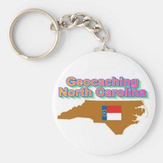 Geocaching North Carolina Keychain