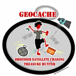 Geocaching obsesionó el satélite fotoescultura vertical