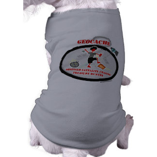 Geocaching  Obsessed Satellite Dog Tee