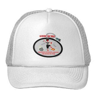 Geocaching  Obsessed Satellite Mesh Hat