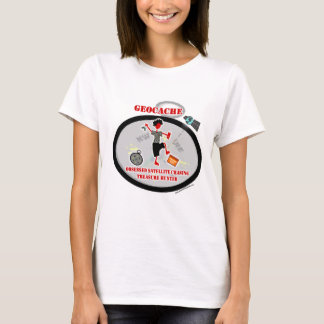 Geocaching  Obsessed Satellite T-Shirt