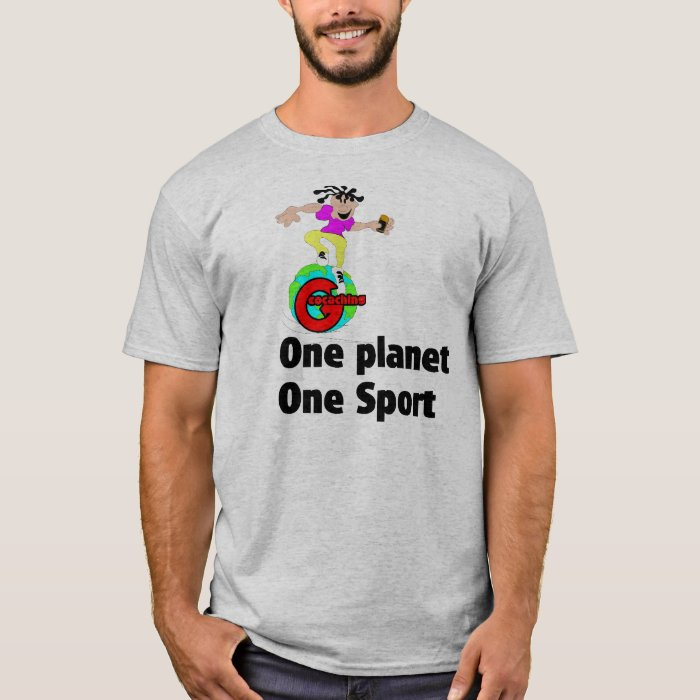 Geocaching One planet One sport T-Shirt