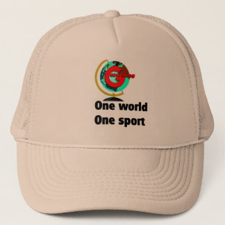 Geocaching  One world One sport Trucker Hat