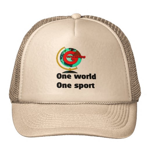 Geocaching  One world One sport Trucker Hat