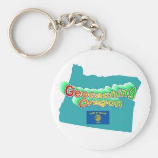 Geocaching Oregon Keychain