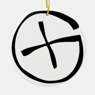 Geocaching Christmas Tree Ornament