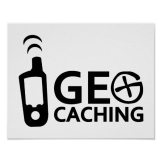 Geocaching Póster