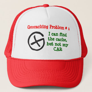 Geocaching Problem #1 Trucker Hat