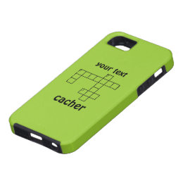 Geocaching Puzzle Cacher Custom iphone 5 Case