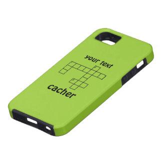 Geocaching Puzzle Cacher Custom iphone 5 Case
