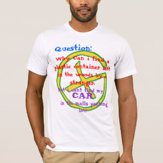 Geocaching Question T-Shirt