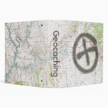 Geocaching Topographic Binder: Glen Canyon 3 Ring Binder
