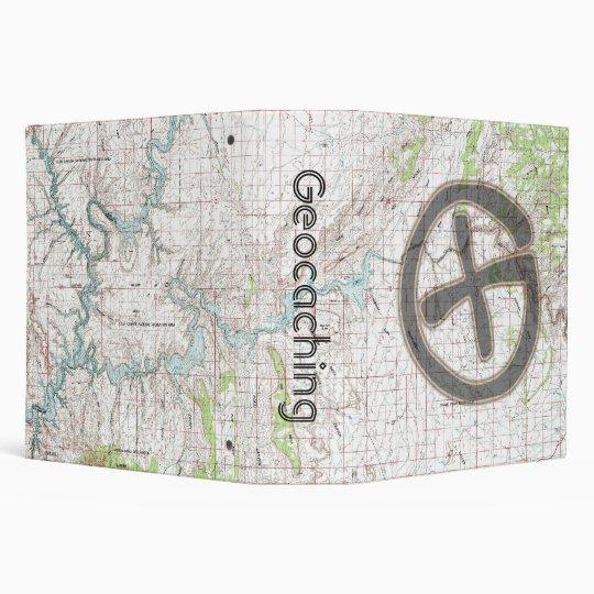Geocaching Topographic Binder: Glen Canyon 3 Ring Binder