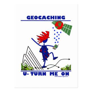 Geocaching U me gira Tarjetas Postales