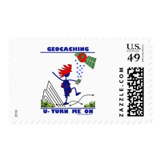 Geocaching U me gira Timbres Postales