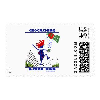 Geocaching U Turn King Stamp