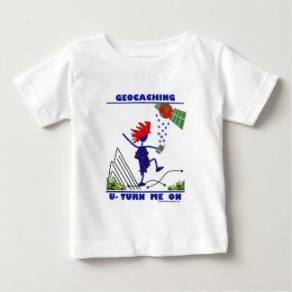 Geocaching U Turn Me On Baby T-Shirt