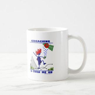 Geocaching U Turn Me On Coffee Mug