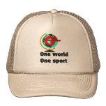 Geocaching un deporte del mundo uno gorras