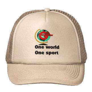 Geocaching un deporte del mundo uno gorro de camionero