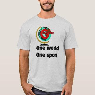 Geocaching un deporte del mundo uno playera