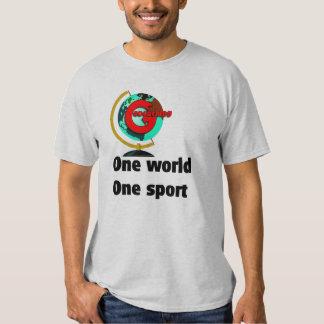 Geocaching un deporte del mundo uno playeras