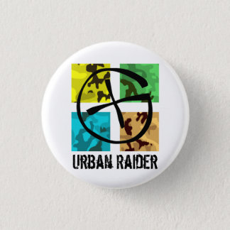 Geocaching Urban Raider pin