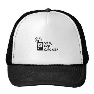 Geocaching - Yes we cache! Trucker Hat
