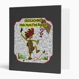Geocachnig Hide Hunt Find Binder