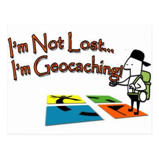 Geocahing Postcard