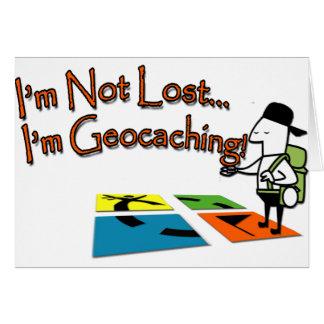Geocahing Tarjeta De Felicitación