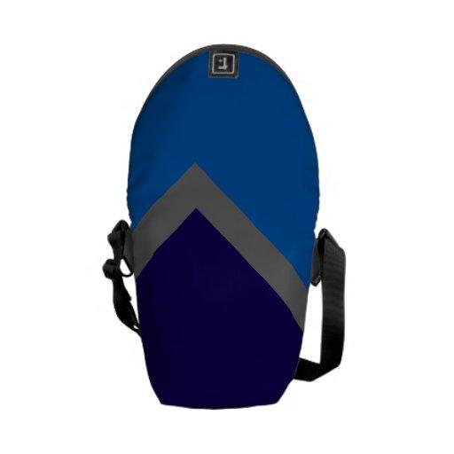 ¡Geochic Azul! Bolsa Messenger